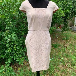 The Limited Women Dress Sz Small Blush Cap Sleeve